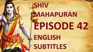 Shiv Mahapuran with English Subtitles - Episode 42 I Tripur Boon