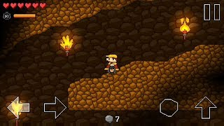 Retro World - walkthrough with secrets - Level 5-2 (Dungeon World)