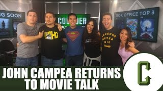 John Campea Returns To Movie Talk - Collider Movie Talk Special Announcment