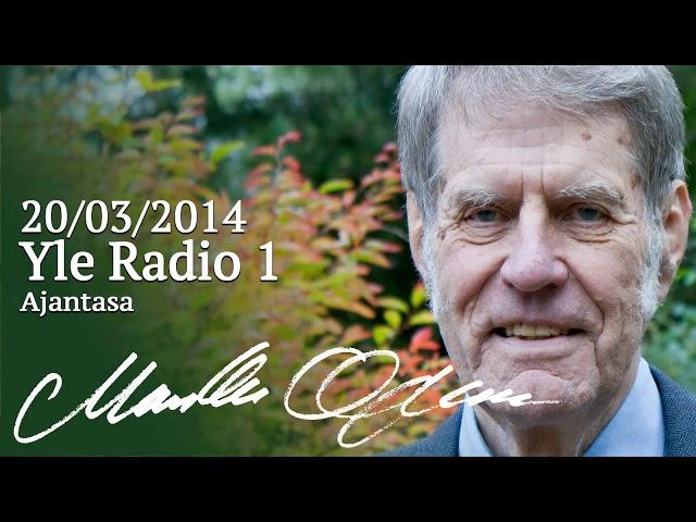 Markku Ojanen Yle Radio 1:n Ajantasa-ohjelmassa 20.03.2014