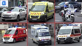 [PARIS] Véhicules d'urgence // Emergency vehicles