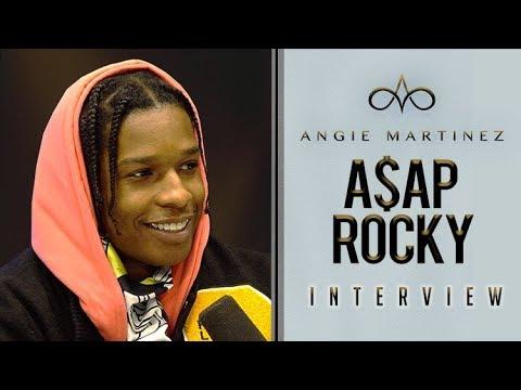 A$ap Rocky Sits With Angie Martinez
