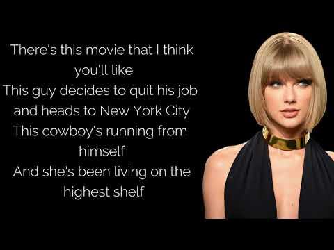 Taylor Swift - Riptide (Lyrics)