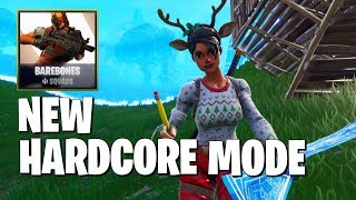 Fortnite Added A *HARDCORE* Mode (Fortnite Battle Royale Gameplay)