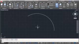 AutoCAD Draw ARC with Specific Length