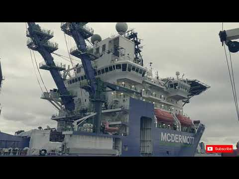 MV Amazon | MCDERMOTT | PIPELAY OFFSHORE Vessel | at ROTTERDAM , The Netherlands