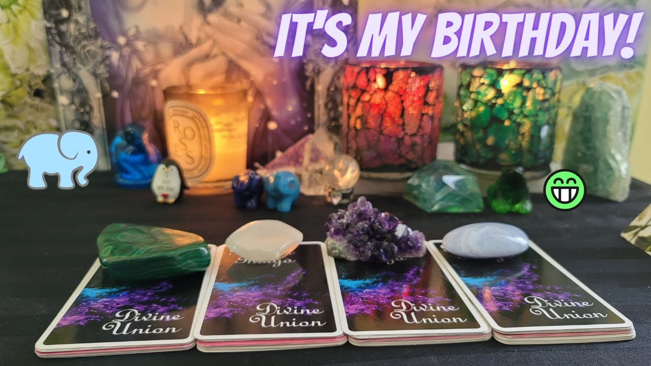 🔮 Everything They Have To Say To You 😮🥰🤗 Message Cards Only 🔮 It's my Birthday! 🎂 PICK A CARD