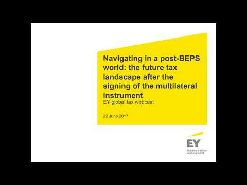 Navigating in a post-BEPS world: the future of tax after the signing of the MLI