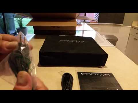 Emotiva BasX A-500 Amplifier Unboxing