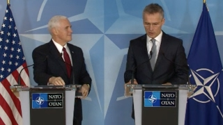 VP Pence NATO News Conference - Full Event