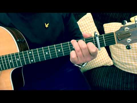 Noel Gallagher's High Flying Birds-Wandering Star-Acoustic Guitar Lesson.