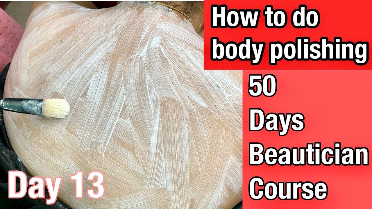 Back polishing karne ka sabse asan tarika /how to do back massage step by step/shrutimakeover