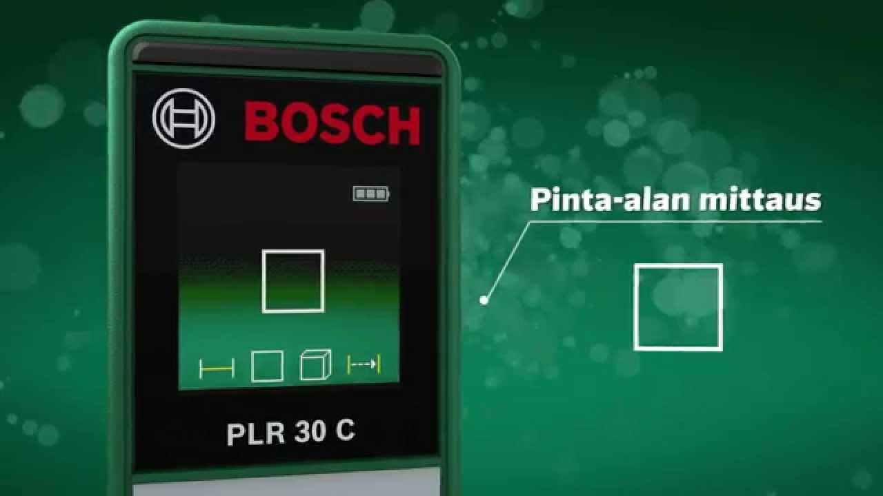 Bosch Diy Digitaler Laser Entfernungsmesser Plr 30 C : Laser entfernungsmesser plr c bosch home and garden zamo iii