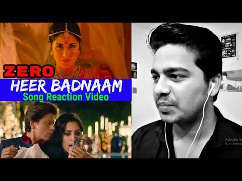 Heer Badnaam Song Reaction Video   ZERO   Shah Rukh Khan, Katrina, Anushka   Tanishk   T-SERIES