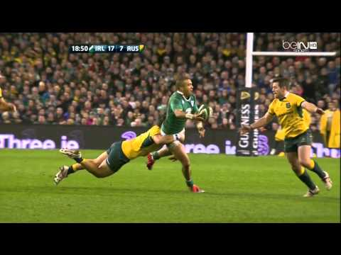 Rugby - Ireland vs Australia, 22.11.2014, 1st Half
