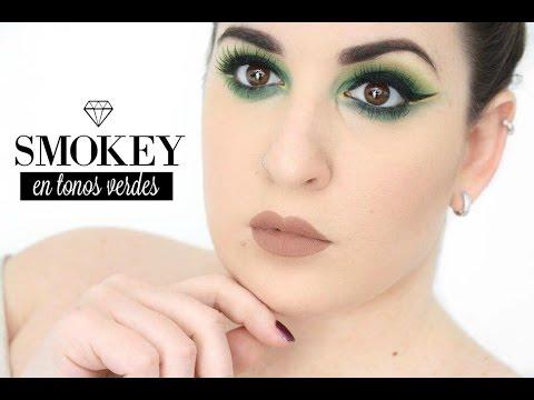 Ojos Ahumados en Color Verde • Green Smokey Eyes