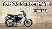The Tomos Streetmate - 1 Year Later - YouTube