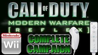Ω Nintendo Wii | Modern Warfare: Reflex | The Complete Campaign #WiimoteWarrior
