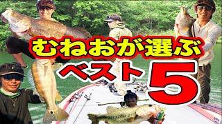 むねおが釣って嬉しかった魚ベスト5!!