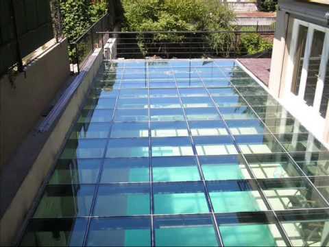 Pisos de vidrio f brica de cerramientos youtube for Ladrillos traslucidos