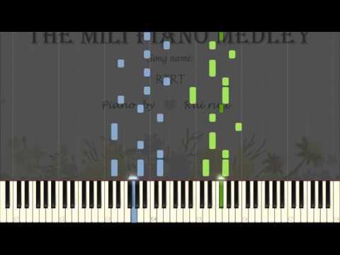 RTRT   Project Milithon   Rui Ruii the Seal Pianist   Synthesia