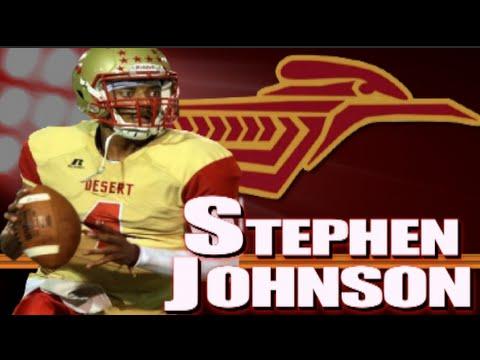 6'3 QB Stephen Johnson II : College of the Desert