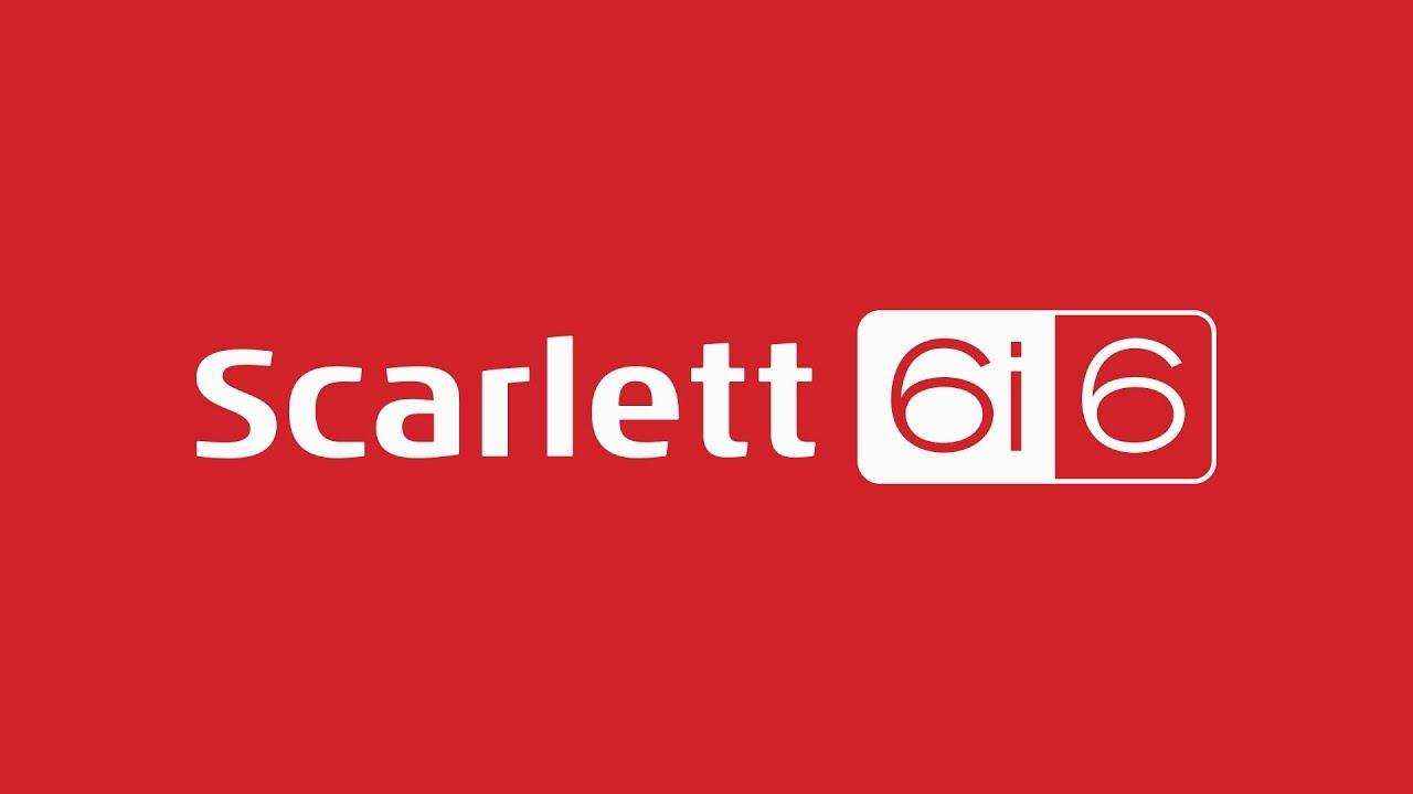 Focusrite Scarlett 6i6 USB Audio Interface   Sweetwater