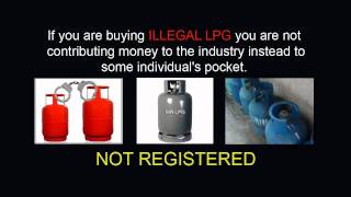 Unregistered Liquefied petroleum gas