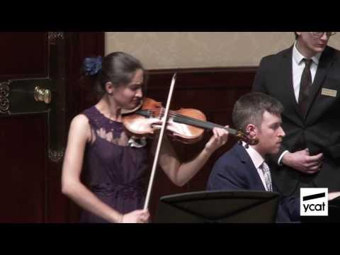 Savitri Grier, Richard Uttley; Enescu Violin Sonata No. 3 in A minor; mov. i