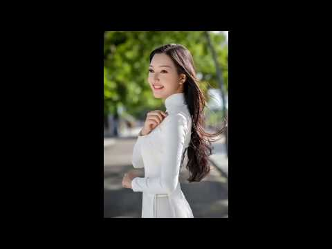 Vietnamese Songs cover by english combined AO DAi fashion BEAUTIFUL GIRLS