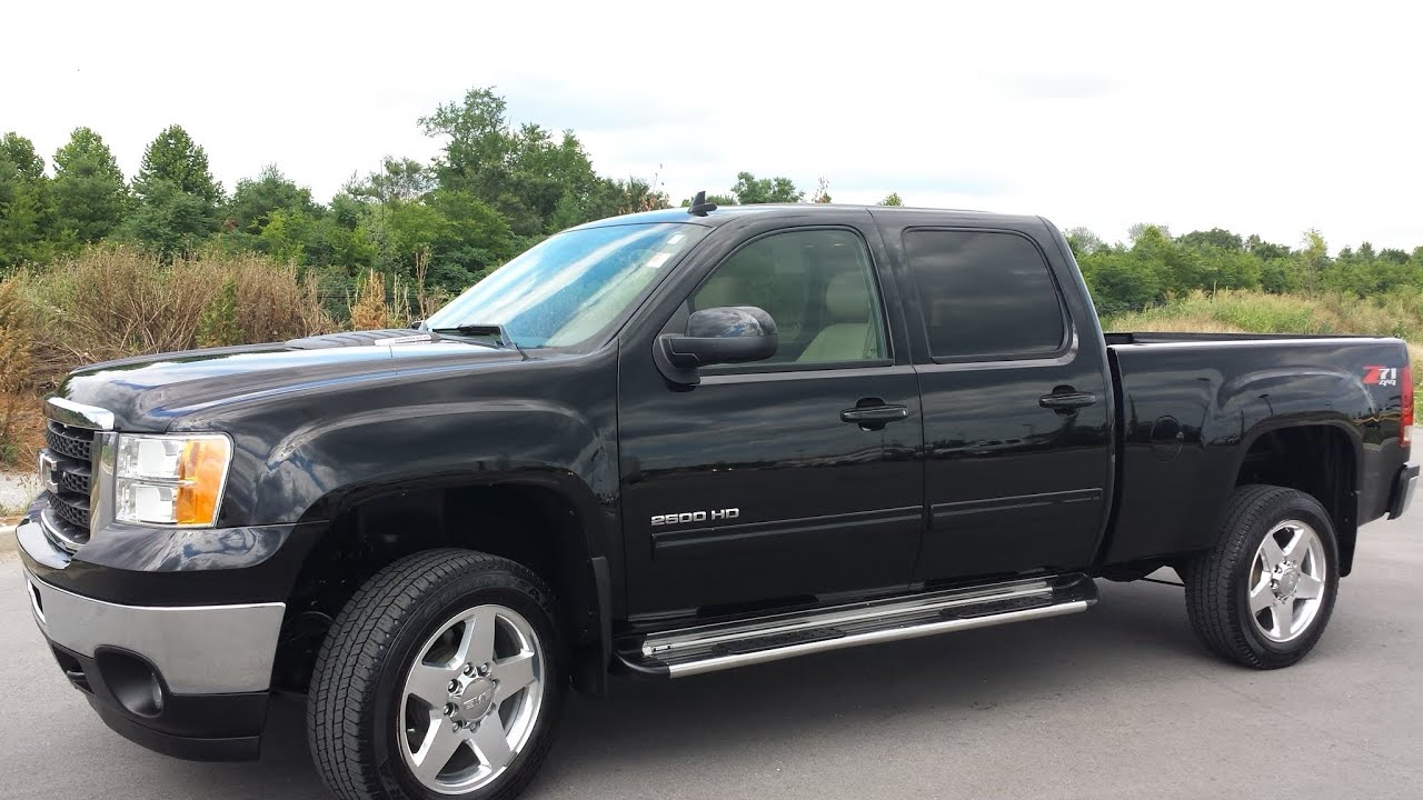 Sold 2011 gmc sierra 2500 hd crew cab slt z71 4x4 6 6 duramax 93k for sale call 855 507 8520