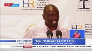CS Wamalwa leads food distribution in areas facing drought