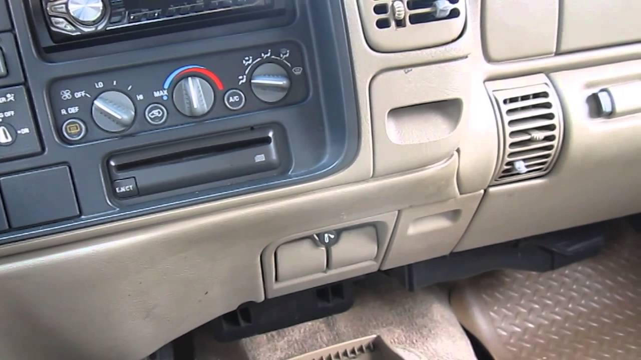 1998 Chevy 1500 Pickup Heater Problem Youtube