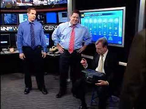 funny Tom Skilling WGN-TV - can't find weather clicker ...