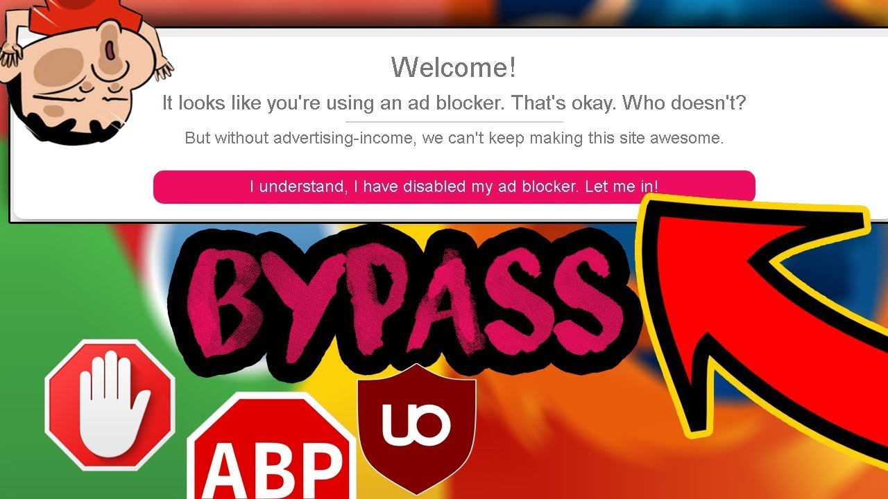 How To Bypass Adblock DETECTION on WEBSITES FREE (2019)