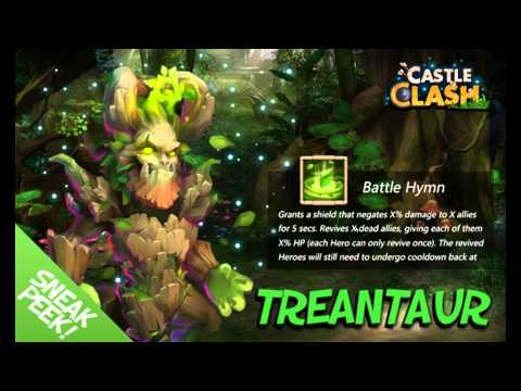 Castle Clash Treantaur In-Depth Sneak Peek Thoughts
