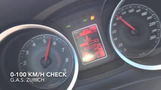 Mitsubishi Lancer 2.0 Ralliart S 241 PS 4x4 0-100 & 0-60 km/h acceleration