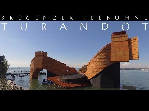 Download BREGENZER FESTSPIELE - Puccinis Turandot 2016 4K Nessun Dorma  Seebühne Aerial View DJI Phantom OSMO