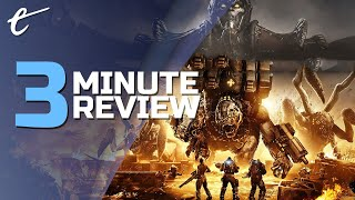 Gears Tactics | Review in 3 Minutes (Video Game Video Review)