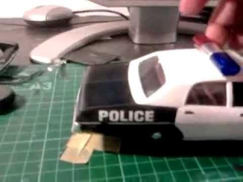 gotham city police car