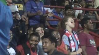 Ada bule Cantik yang mendukung team PERSIPURA Jayapura