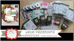 Ausgepackt - Unboxing - Neue Produkte von Stampin´Up! - Jahreskatalog 2020 / 2021 - Bestellung