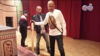 أخبار اليوم | مشاكل « مسرح مصر » مع منظمي هلا فبراير