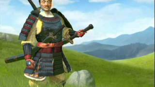 Civilization 5 - Japan , Oda Nobunaga Soundtrack - Peace and War