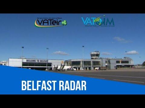 [VATSIM ATC] Belfast Radar [EGAA / EGAC] Live Stream 06/08/2017
