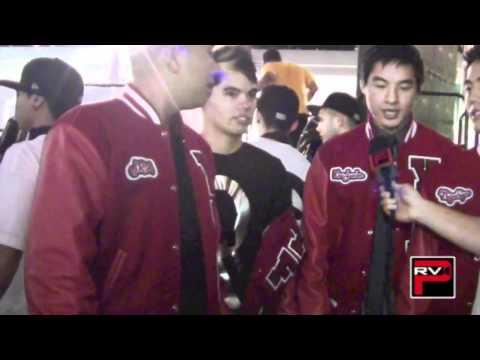 WOD LA 2011 - YTF Crew interview featuring D-Trix, Ryan Higa, KevJumba, JR Aquino