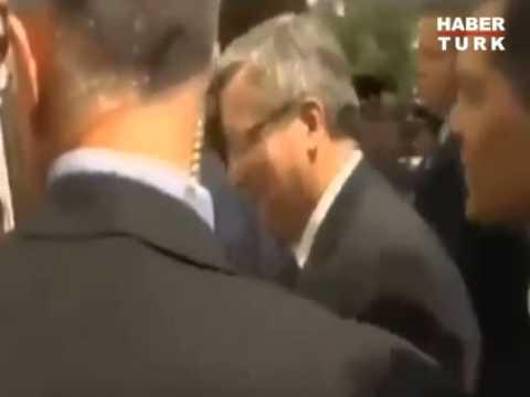 egg attack on the president of poland