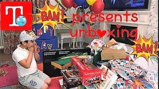 Unboxing δώρα από τα γενέθλια🎁Famous Toli🎁 Παιχνίδια για παιδιά/presents
