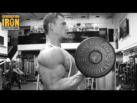 Thomas Miller Classic Physique Training At Gold's Gym | GI Spotlight