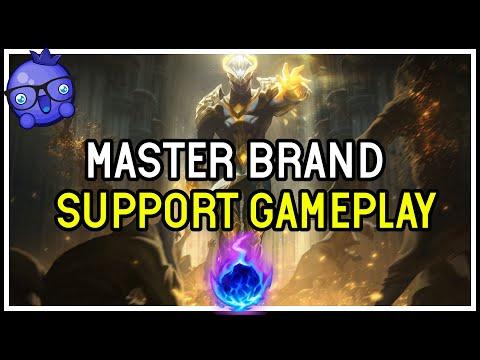 MASTER EUW Brand Support Gameplay - League Of Legends